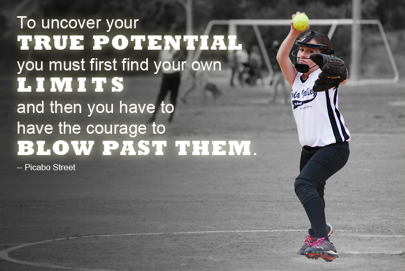 Motivational Quotes For Softball Players Quotesgram