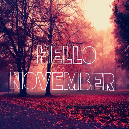 Goodbye October Hello November Quotes. QuotesGram