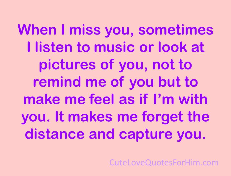 cute i miss him quotes  quotesgram