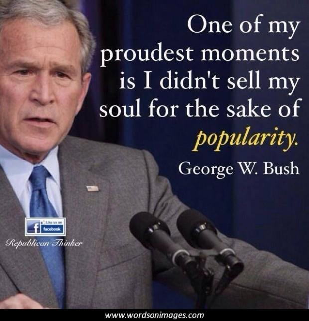 Famous George Bush Stupid Quotes Quotesgram