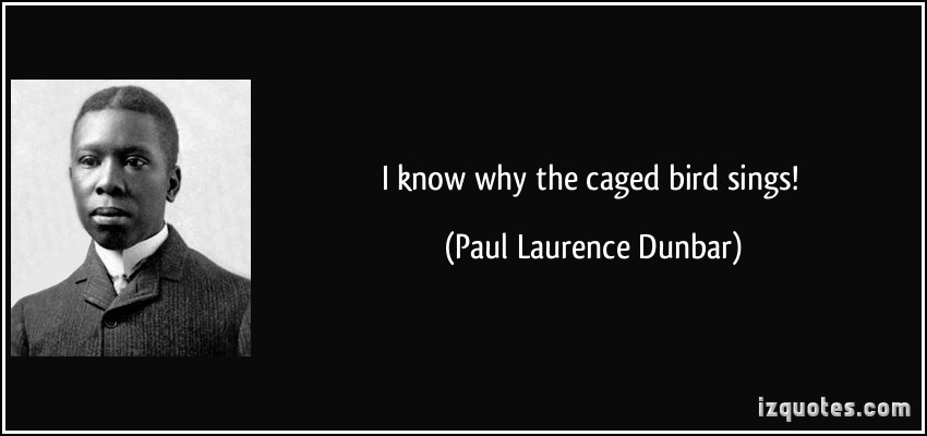 a comparison of a life of a caged bird and the african americans throughout history in paul laurence