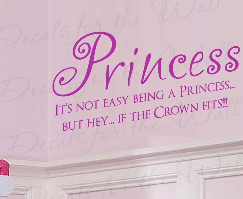 """Amazon.com - It's not easy being a Princess 10"""" x 25 ... 
