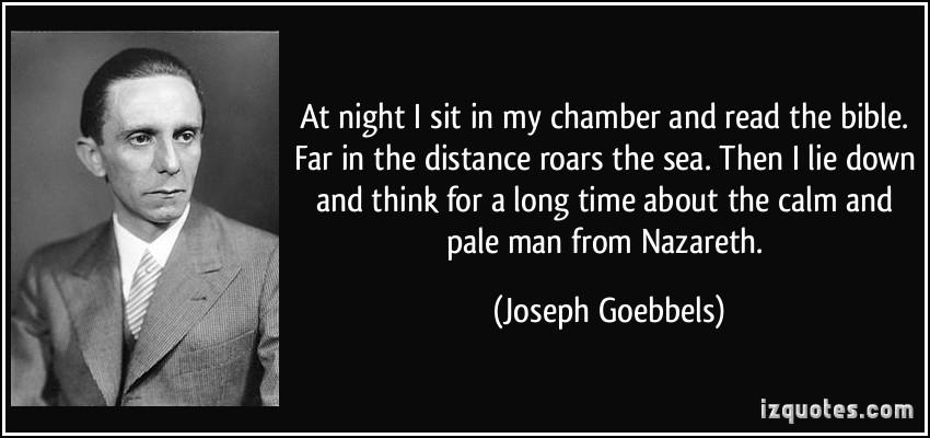 Joseph Goebbels Propaganda Quotes Quotesgram