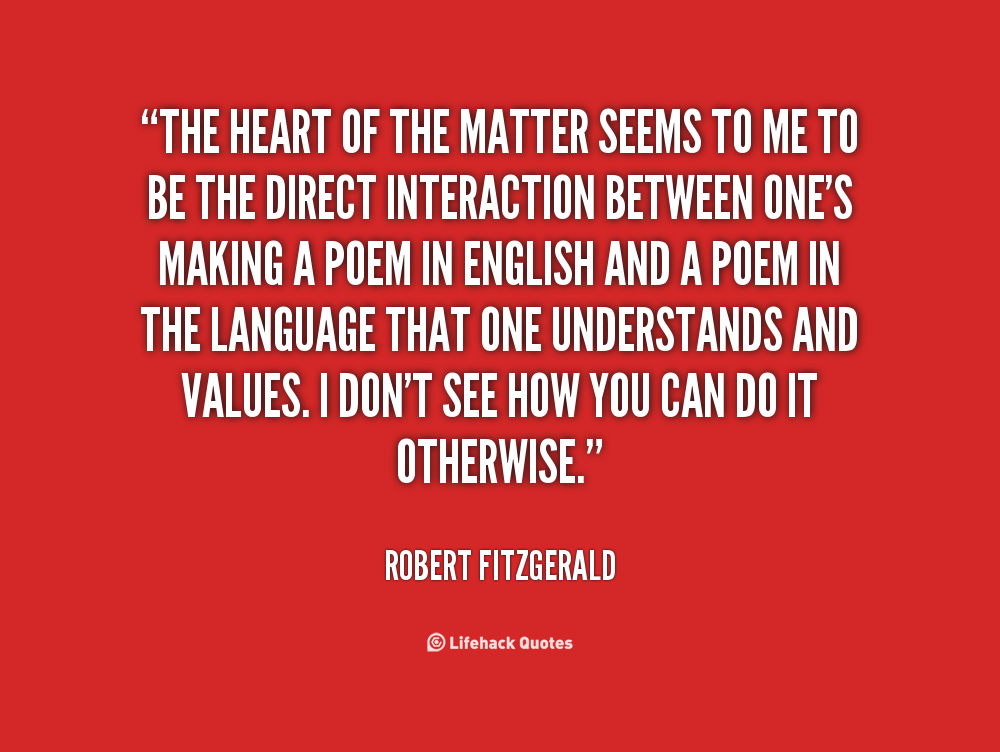 Matters Of The Heart Quotes. QuotesGram