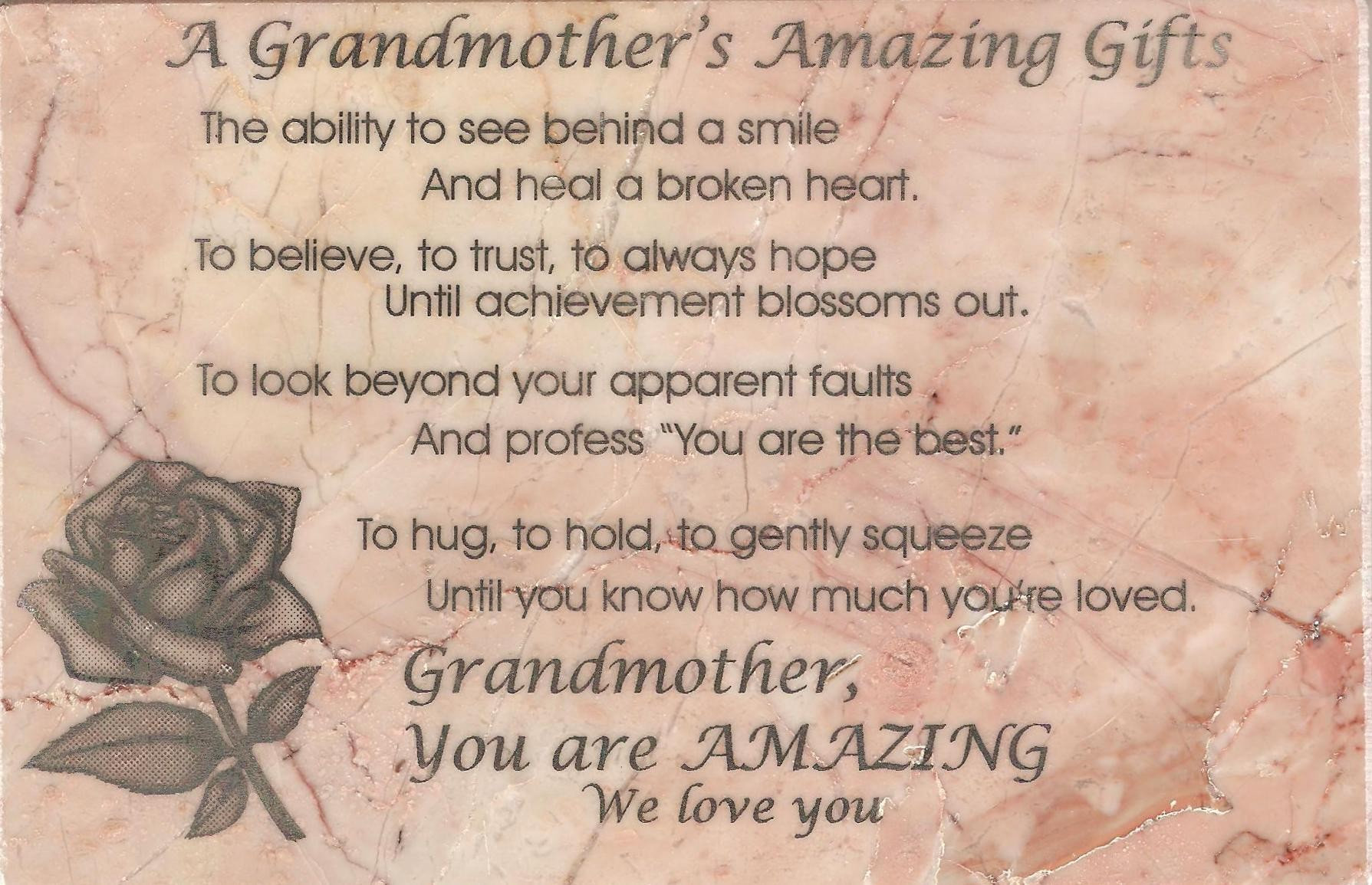 Loss Of Grandmother Quotes Quotesgram