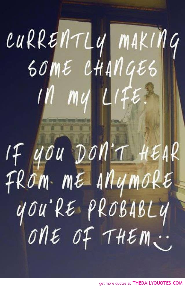 Making Changes In Life Quotes. QuotesGram