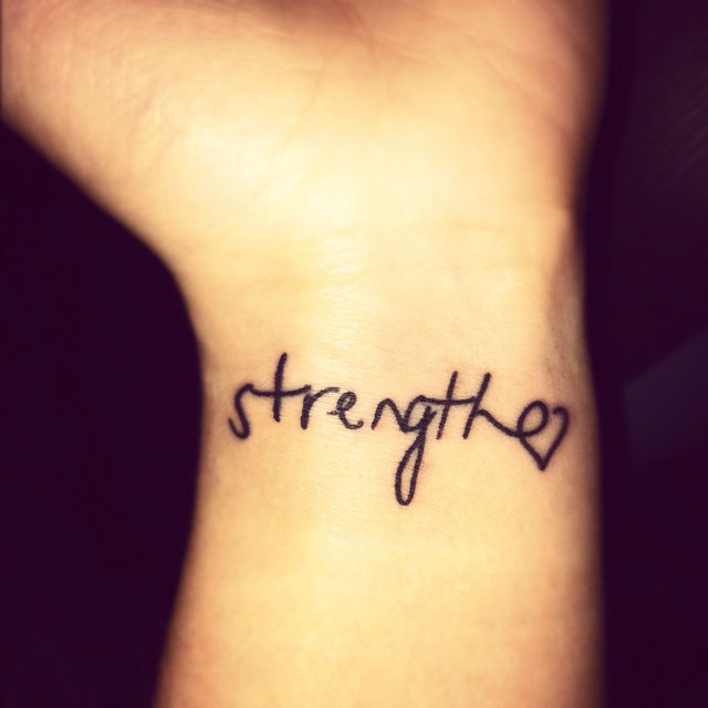 One Word Quotes For Tattoos Quotesgram
