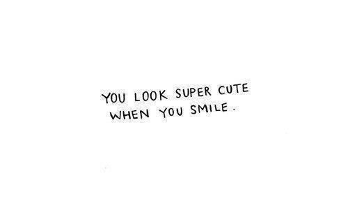 smile quotes cute crush quotesgram