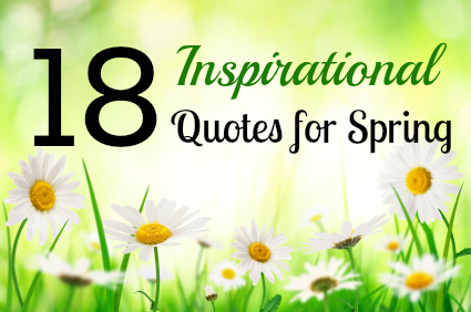 Spring Quotes And Sayings Quotesgram