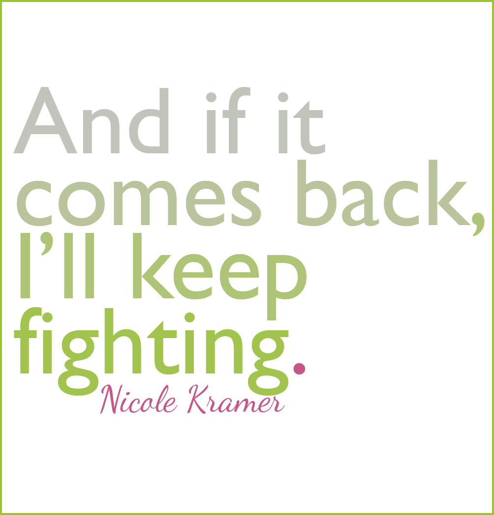 For People Fighting Cancer Quotes. QuotesGram