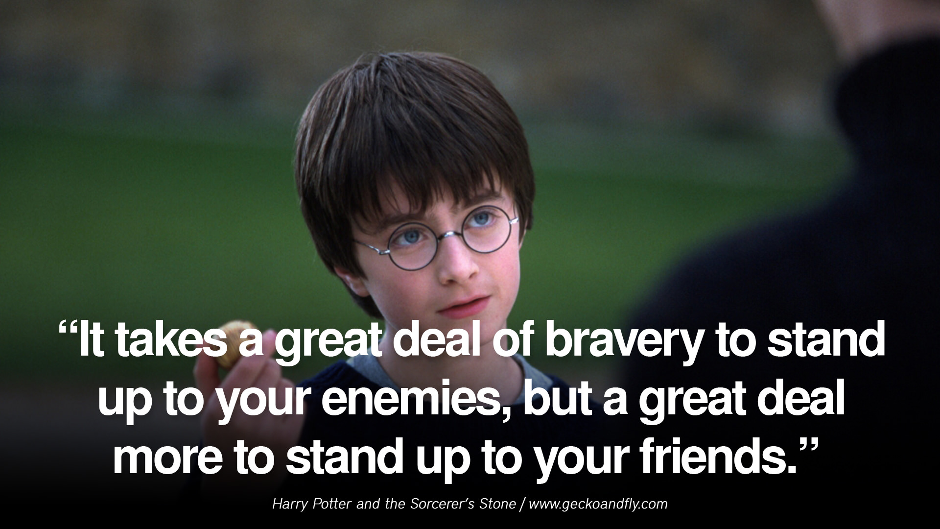 Harry Potter And The Sorcerers Stone Quotes Quotesgram