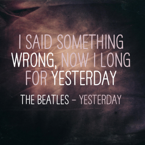 Best Quotes From The Beatles: Hippie Beatles Quotes Song Lyrics. QuotesGram