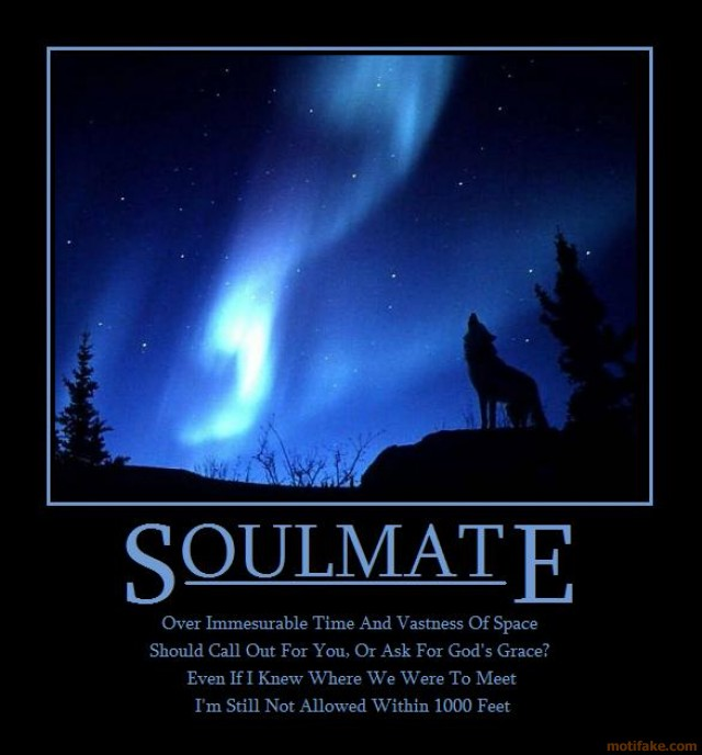 Inspirational Quotes About Soulmates Quotesgram