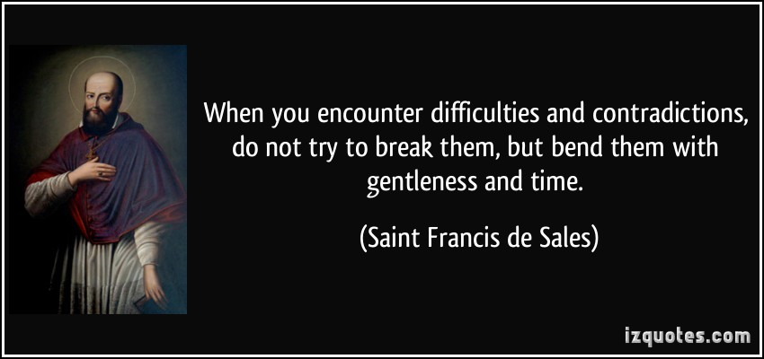 Saint Francis De Sales Quotes Quotesgram