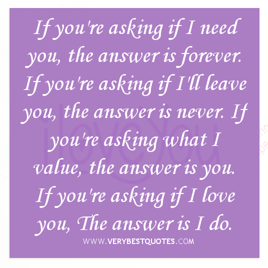Forever Love Quotes And Sayings: Cute Quotes Love You Forever. QuotesGram