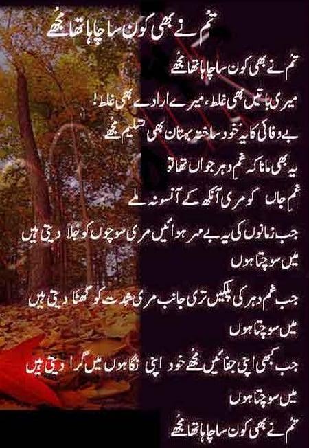 Love Quotes In Urdu : Urdu Love Quotes For Wife. QuotesGram