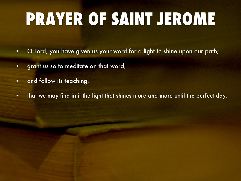 St Jerome Quotes On Scripture Quotesgram
