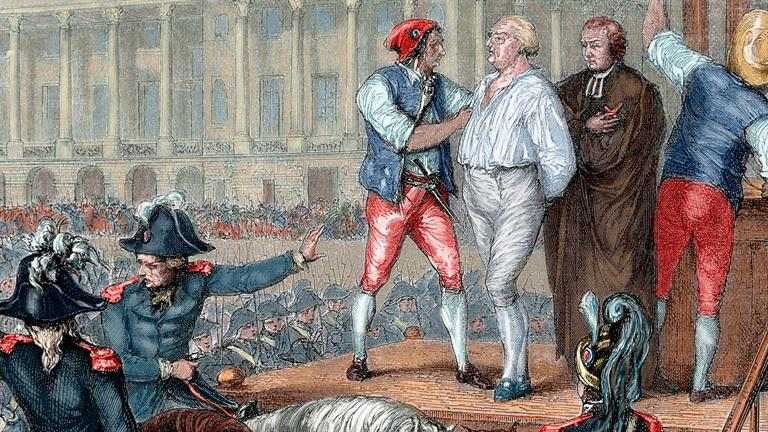 an analysis of the reign and downfall of king louis xvi of france Through a close analysis, to a certain extent louis xvi as many historians have concluded about the french revolution, france had king louis xvi and.