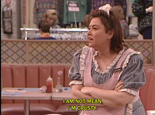 The Waitress Is Getting Married Quotes: Quotes From The Roseanne Show. QuotesGram