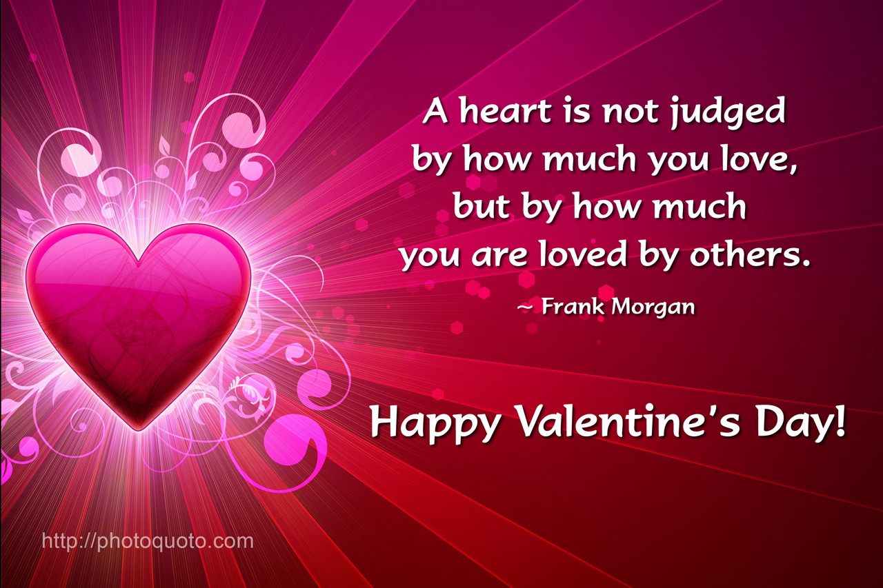 Valentines Day Quotes Famous Authors: Valentine Heart Quotes. QuotesGram