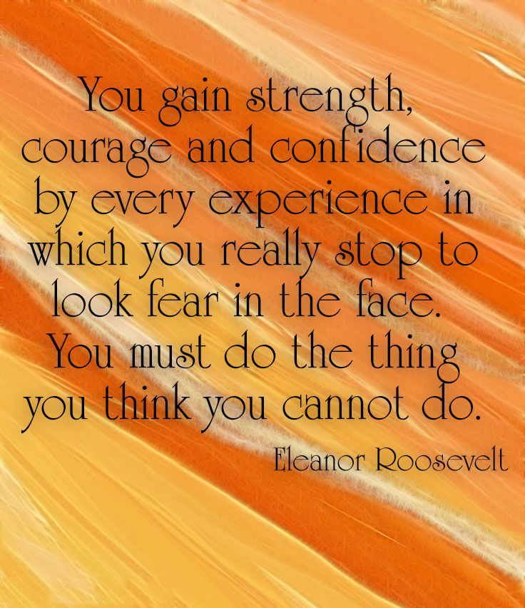 Quotes About Gaining Strength  Quotesgram