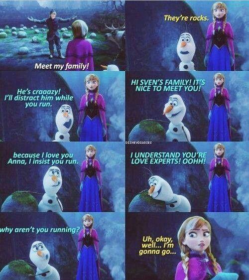 frozen princess anna funny quotes quotesgram