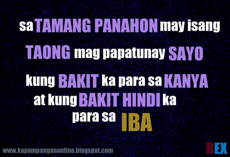 tagalog quotes para sa boyfriend quotesgram
