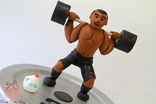Bodybuilding Wedding Cake Toppers