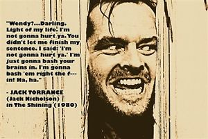 the shining movie quotes quotesgram