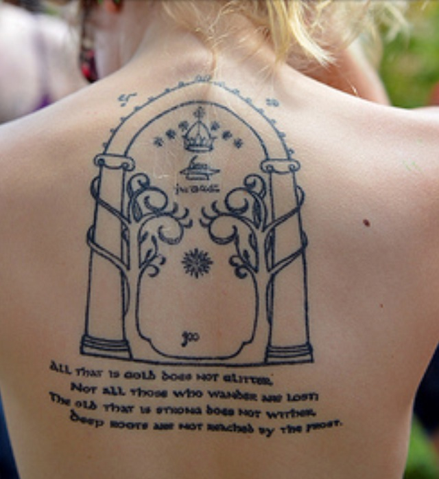 Tattoo Quotes And Poems Quotesgram: Smaug Tattoo Quotes. QuotesGram