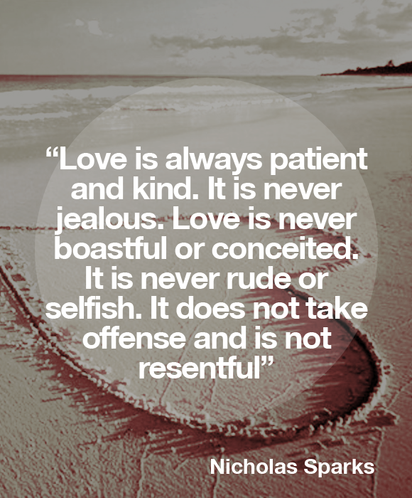 a walk to remember quotes love is always patient and kind - photo #10