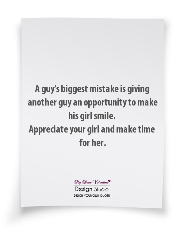 Make Her Feel Special Quotes: Quotes To Make A Girl Smile. QuotesGram
