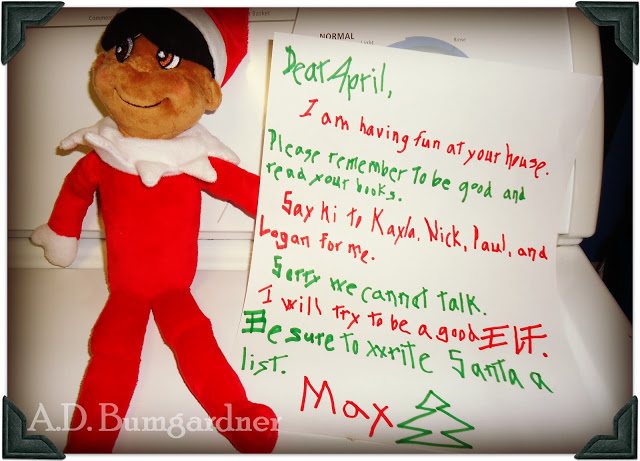 How To Write A Letter From Elf On The Shelf