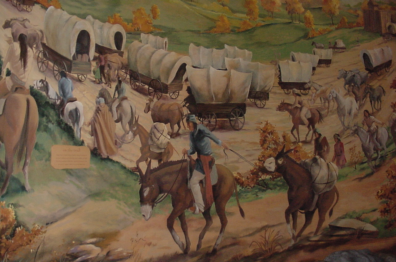 Famous Painting Of The Trail Of Tears