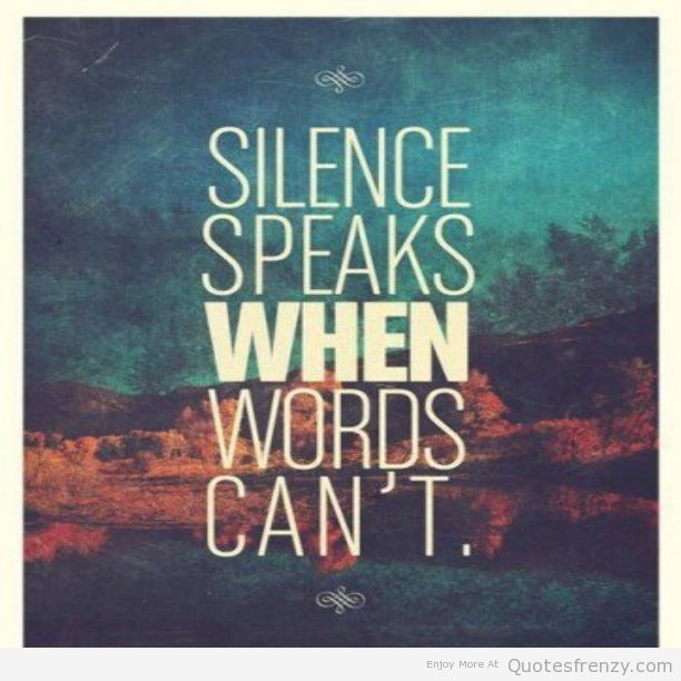 Quotes About Anger And Rage: Quotes About Silence. QuotesGram