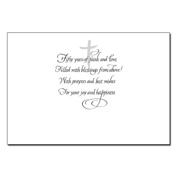 50th Wedding Anniversary Quotes: 50th Anniversary Poems And Quotes. QuotesGram
