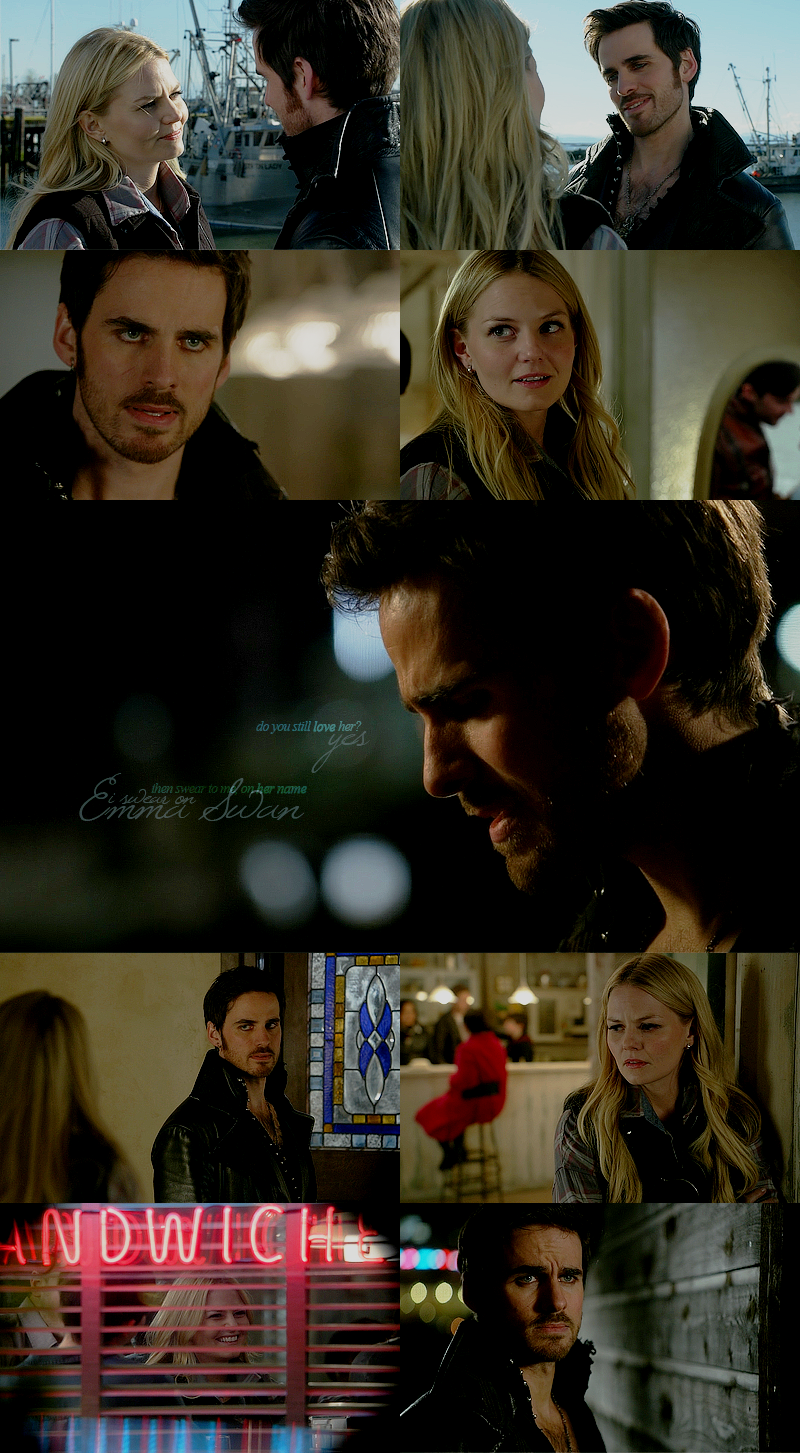emma and hook relationship test