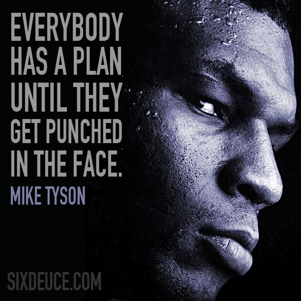 quotes tyson mike quote face motivational quotesgram boxing punch inspirational einstein down