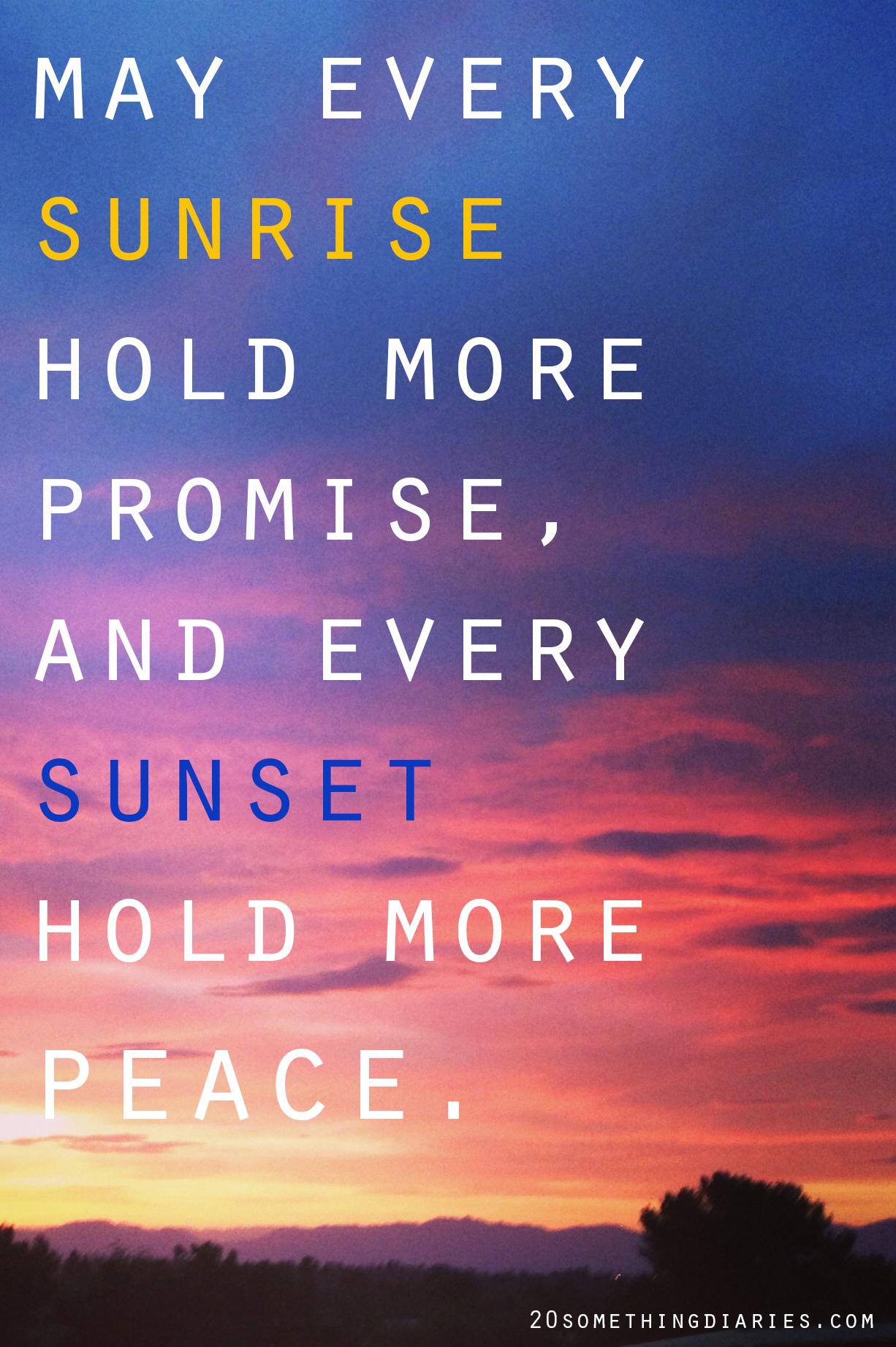 Sunset Quotes Change. QuotesGram