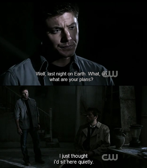 Cass Quotes Supernatural. QuotesGram   Cass Quotes Spn