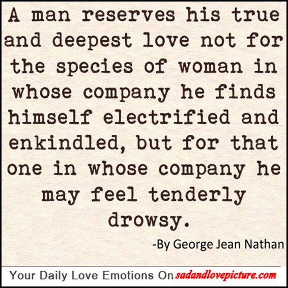 Is man woman a and a between love true what True Love: