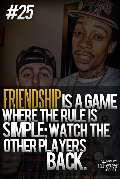 Rap Quotes About Friendship Quotesgram
