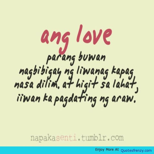 New Tagalog Sad Love Quotes. QuotesGram