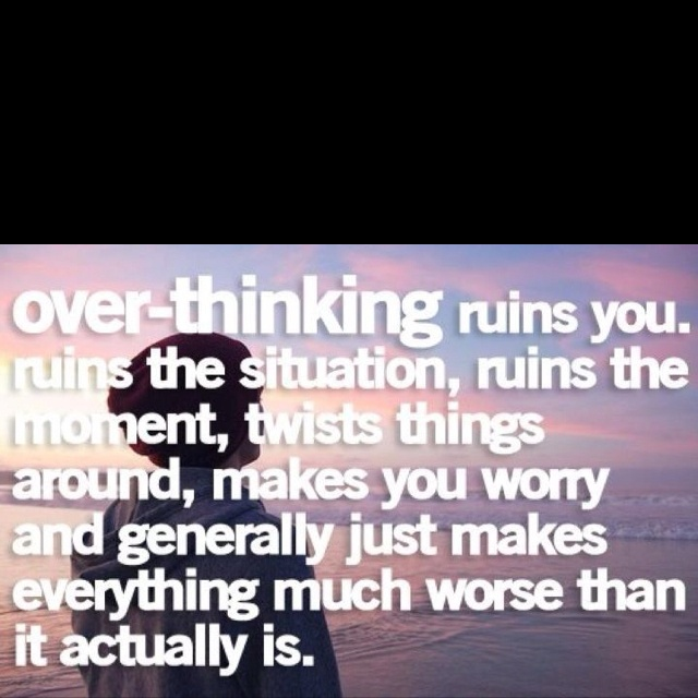 Powerful Little Quote Sad Quotes T: Overthinking Quotes Sad. QuotesGram