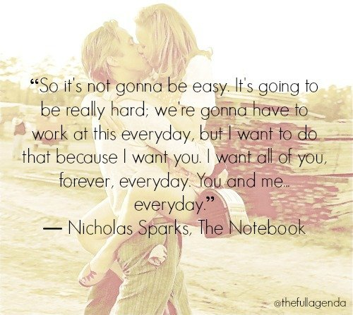 Quotes From The Notebook Book: Book Quotes The Notebook. QuotesGram