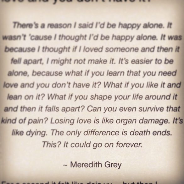 character analysis of meredith grey in greys anatomy essay Greys anatomy main character is meredith grey played by ellen  more about medical shows, scrubs and greys anatomy stand above the rest essay on analysis of the.