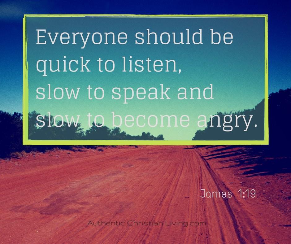 Anger Verses: Slow To Speak Quotes. QuotesGram
