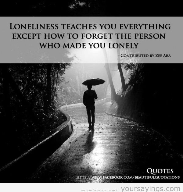 Quotes Feeling Sad And Alone: Quotes About Sadness And Loneliness. QuotesGram