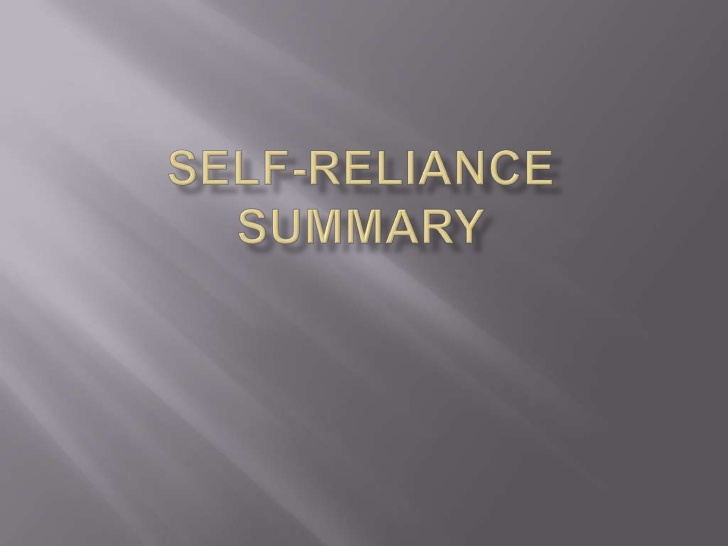Self Reliance Quotes Explained. QuotesGram