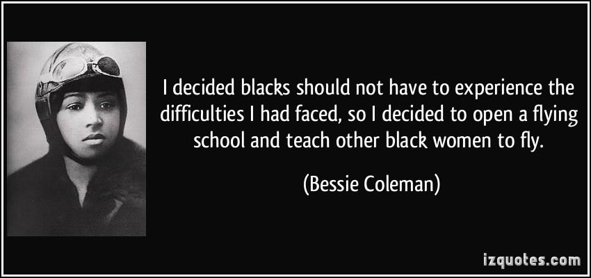 bessie coleman quotes quotesgram